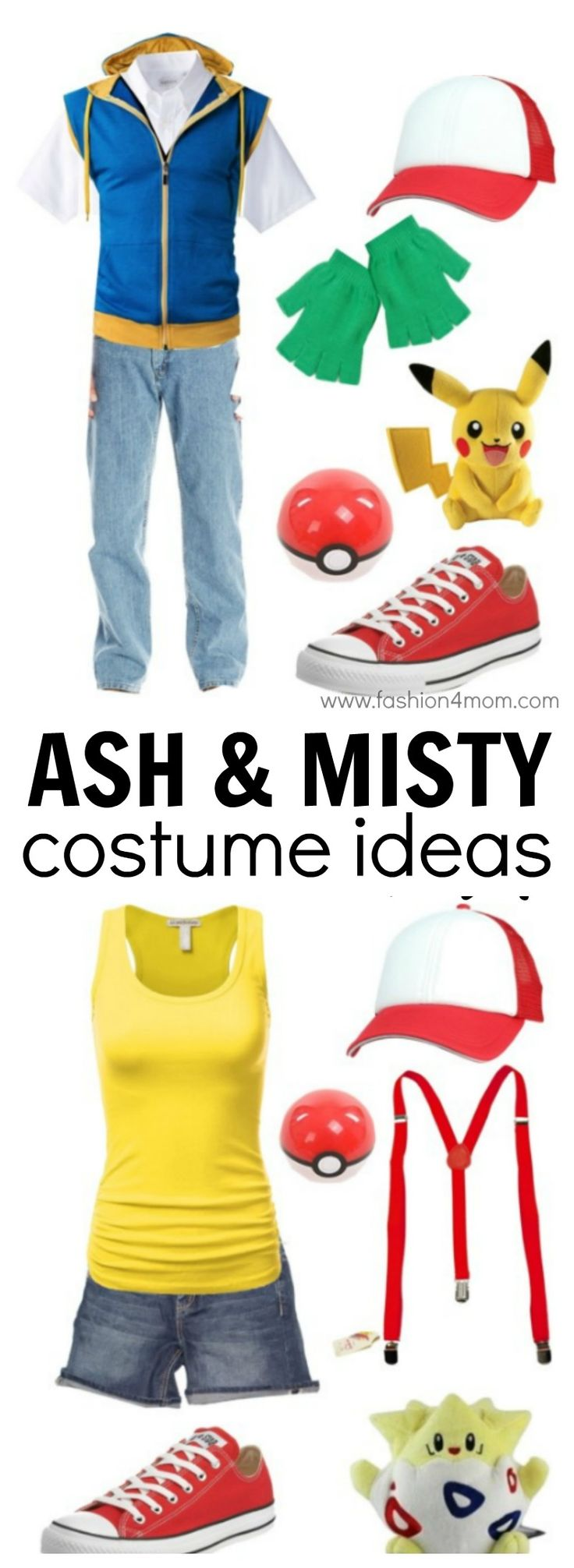 Pokemon Costume Ideas - Ash & Misty