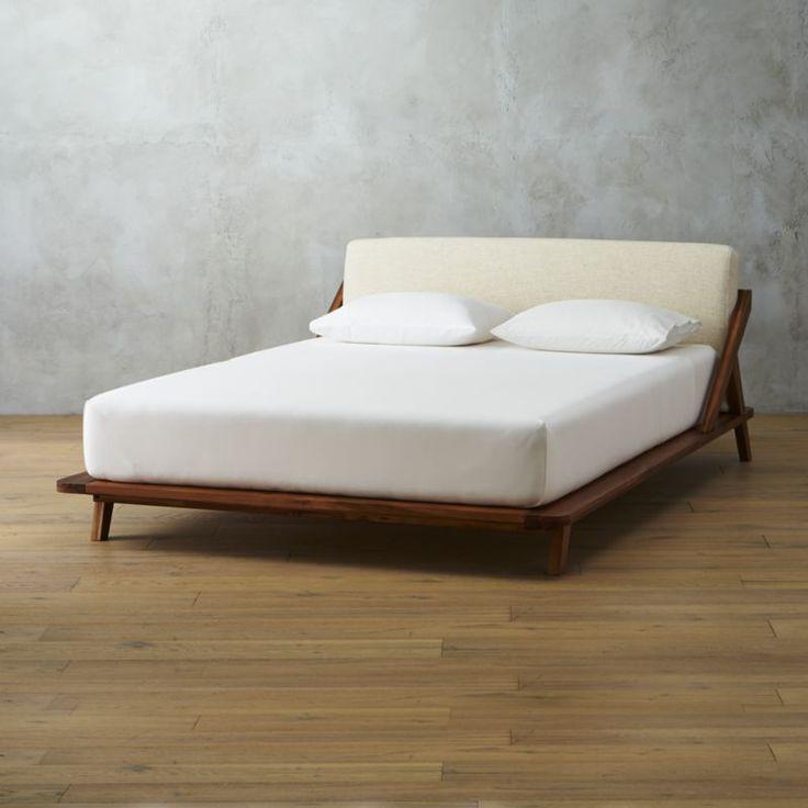 drommen queen bed - cb2