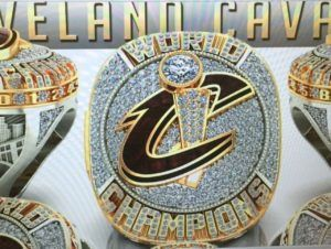 Cleveland Cavalier's Jefferson leaks 1st look at championship ring 