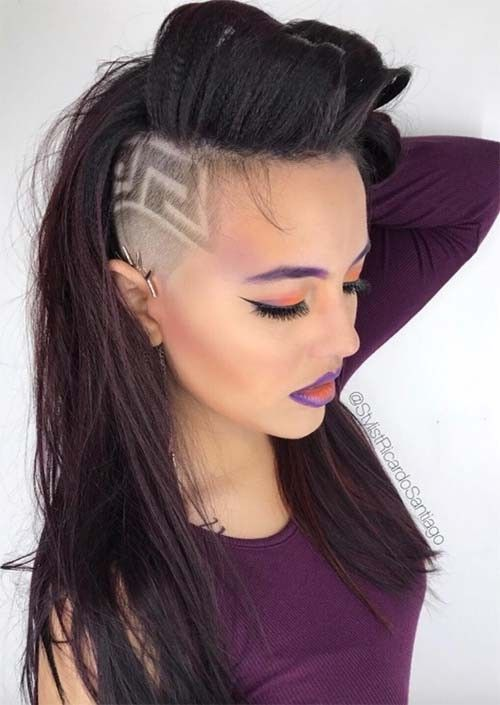 hair styles with bobby pins 4923 best hair undercuts and sidecuts images on 2173