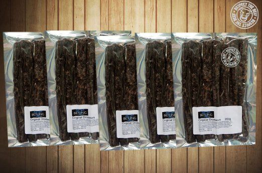 The Biltong Man Traditional Droëwors (1Kg) - Real South African Cuisine on Sale!