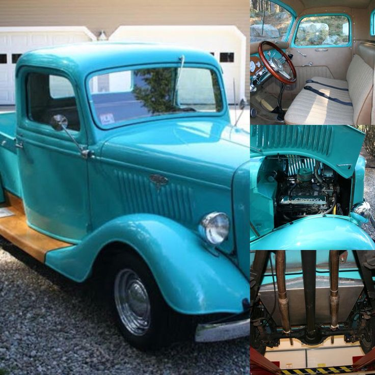 1935 Ford Truck $25k ALL Steel Body With Fiberglass