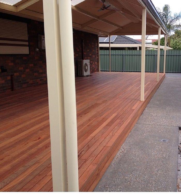 decking and verandahs, pergolas or patios