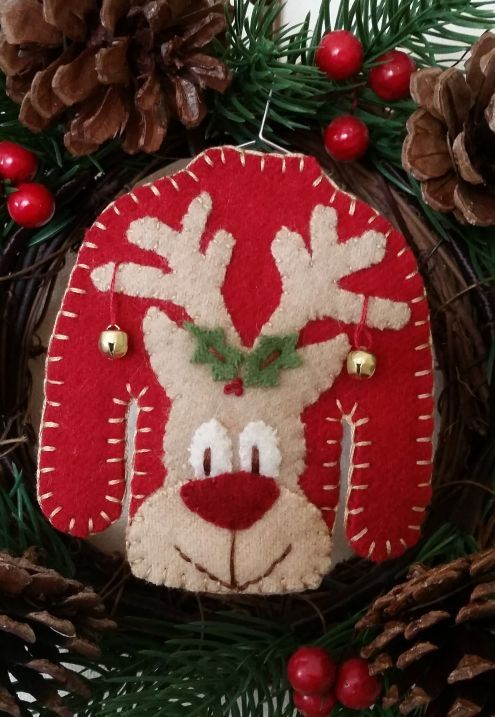 121 best Christmas 2017 - Ugly Sweater Ornaments images on ...