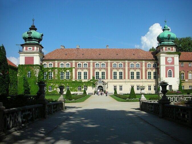 One of many Polish Palaces.Lancut Museum.