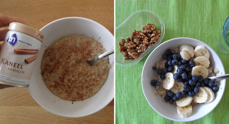 gezond ontbijt havermout