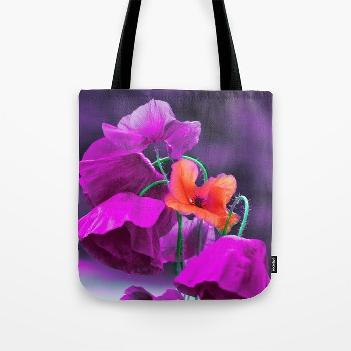 Buy Vintage poppies (7) Tote Bag by maryberg. Worldwide shipping available at Society6.com. Just one of millions of high quality products available.