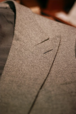 French tailoring by Cifonelli.
