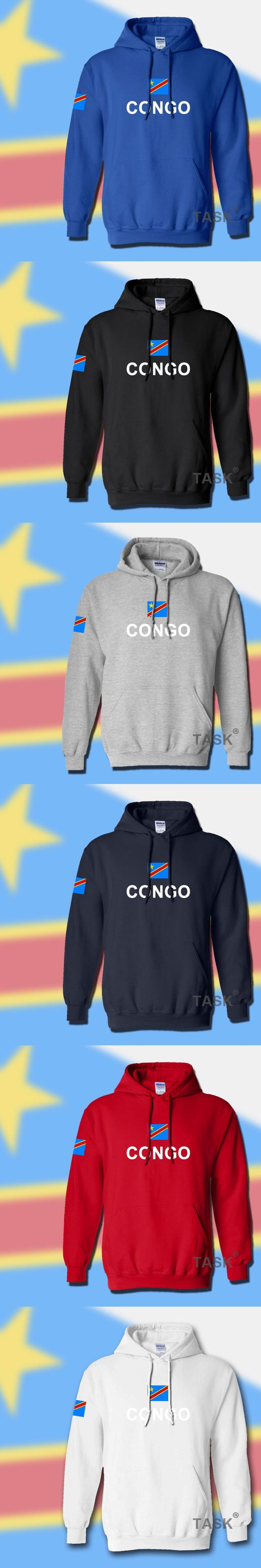 DR Congo hoodies men sweatshirt sweat new hip hop streetwear footballer sporting tracksuit COD DRC DROC Congo-Kinsha Congolese