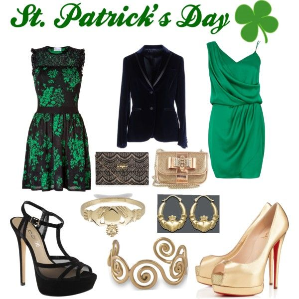 """""""St. Patrick's Day - Dinner Date"""" by caryvanessa on Polyvore"""
