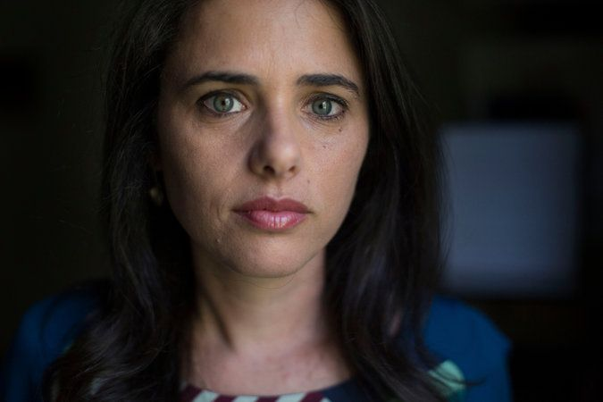Ayelet Shaked, Israel's New Justice Minister, Shrugs Off Critics in Her Path - The New York Times