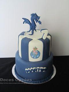 Doces Opções: Bolo de aniversário Dragão