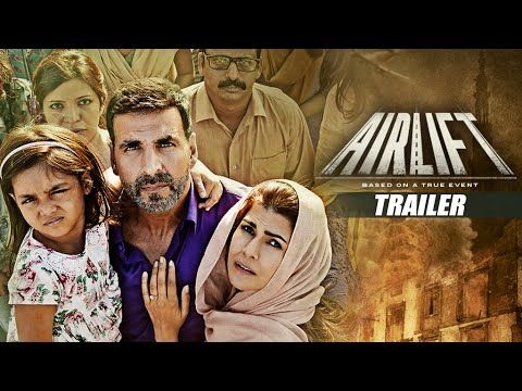 AIRLIFT THEATRICAL TRAILER | Akshay Kumar, Nimrat Kaur | Releasing on 22...