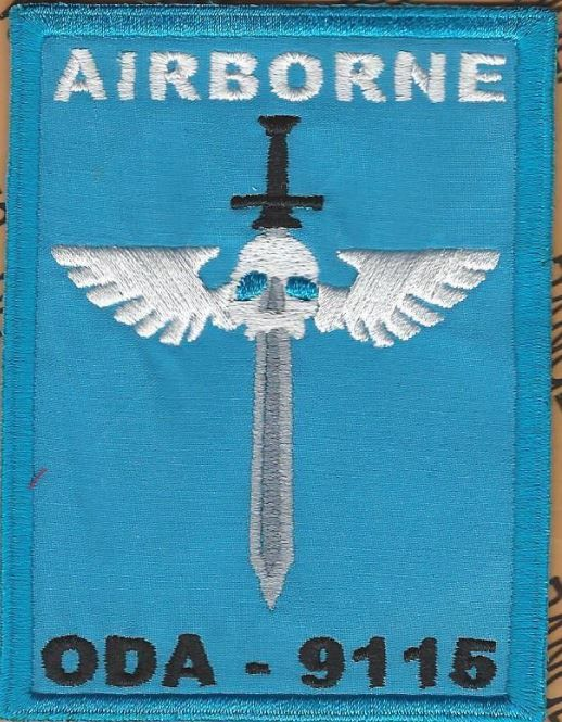 1st Bn 19th Special Forces Group Airborne SFGA ODA-9115 patch