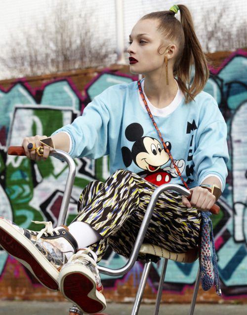 rockin 80's #fashion
