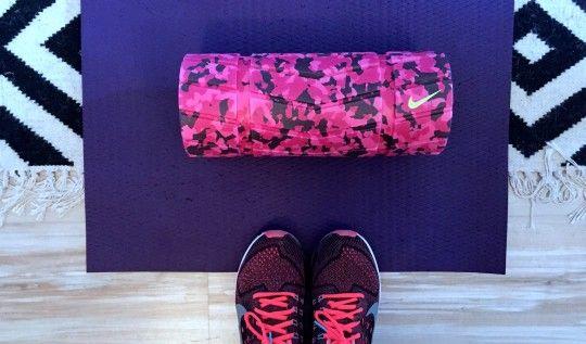 Apprivoiser le foam roller #étirement #muscle #sport #foamroller #massage #rouleau #unpeumieux