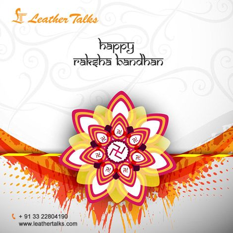 A love between a brother and a sister is one of the deepest and noblest of human emotions. Leather Talks wishes you a very Happy Raksha Bandhan 2016! www.leathertalks.com