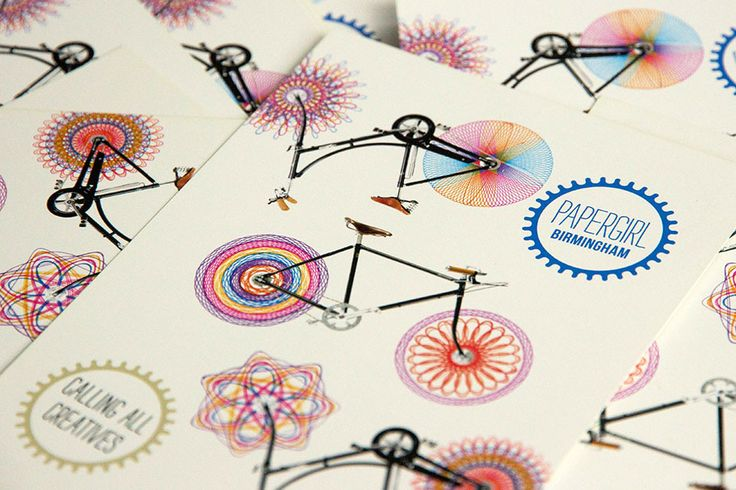 Papergirl Birmingham on Behance