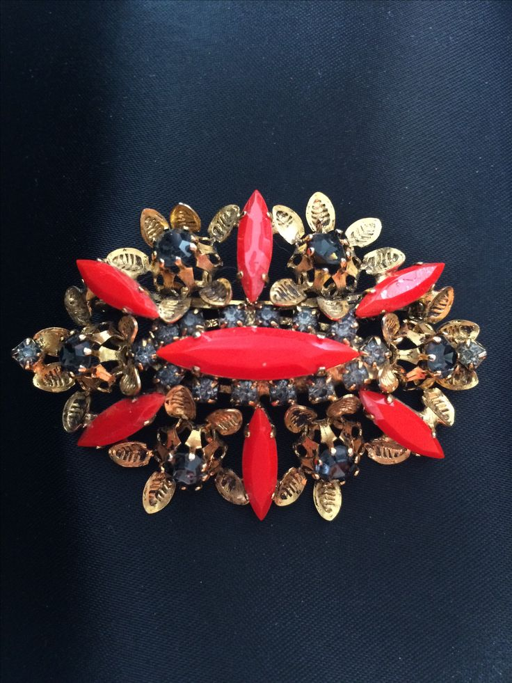 From my collection! Amazing brooch, middle XX