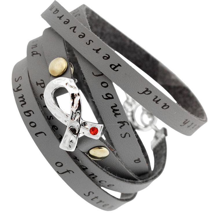 Diabetes Awareness Wrap Bracelet