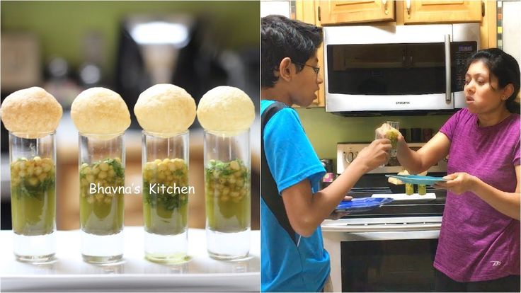 Golgappa PaniPuri Shots Moment Video Recipe | Bhavna's Kitchen - YouTube