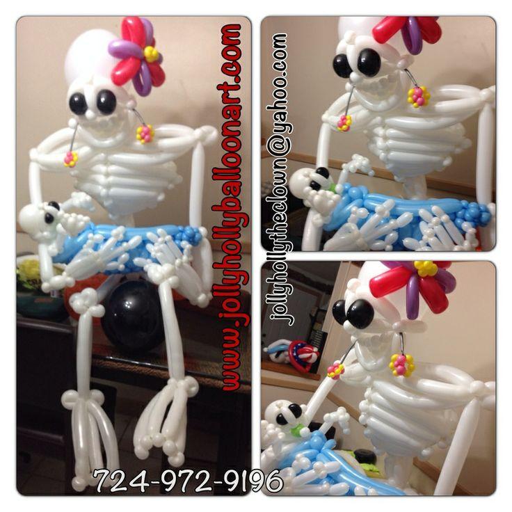 jolly holly balloon art - Halloween Balloon Animals
