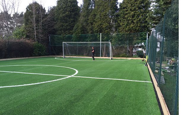 This is how much it would cost to build a 5-a-side pitch in your garden - Telegraph