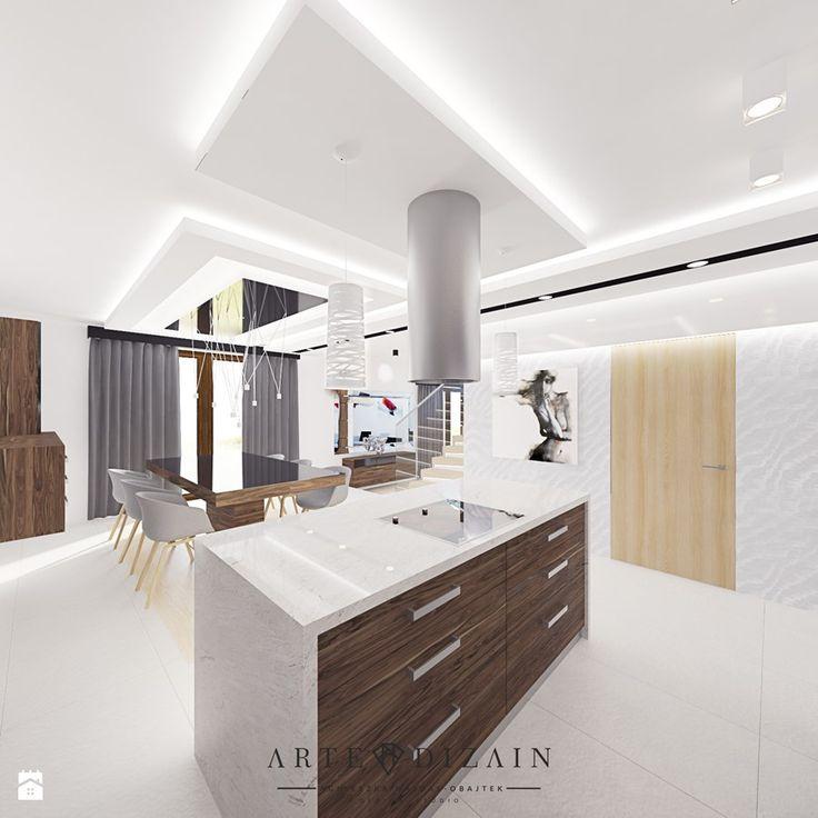 Dom w Koleczkowie - Kuchnia, styl nowoczesny - zdjęcie od Arte Dizain