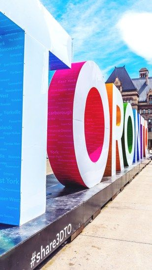 Visit Nathan Phillips Square and see the world famous Toronto sign.