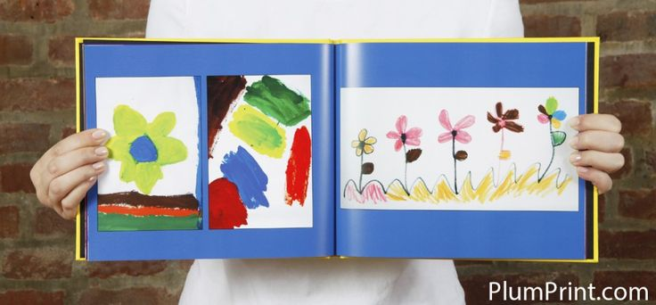 Drowning in construction paper artwork? Plum Print can turn the piles of your kids artwork into a nice photo book.
