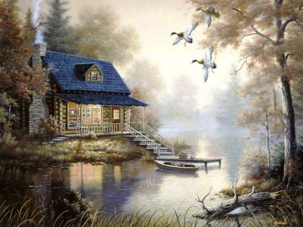 Lakeside Retreat ~ Judy Gibson