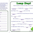 Here is a fun Mad Lib for your students to do on Leap Day! Perfect for the whole class, small groups, pairs, or individual use. ...