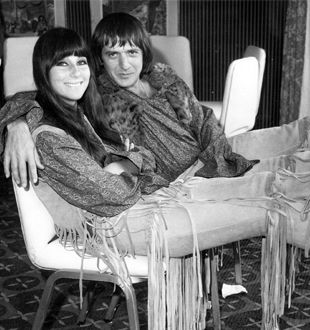 Sonny and Cher - never missed their variety show; anxiously awaited Cher's costumes