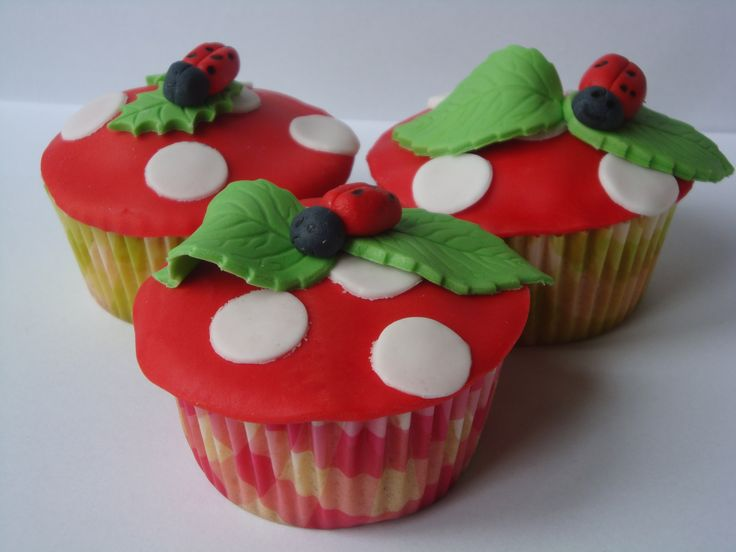 Appel-kaneel cupcakes! Zomers! Mmm...