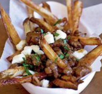 Braised short rib poutine