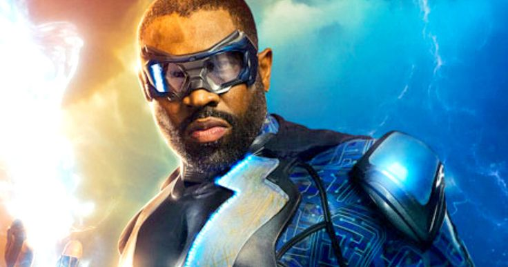 First Look at The CW's New DC Hero Black Lightning -- Get your first look at Cress Williams in character as Jefferson Piece, a.k.a. Black Lightning, as production begins on the CW TV show. -- http://tvweb.com/black-lightning-cw-tv-show-photo-cress-williams/