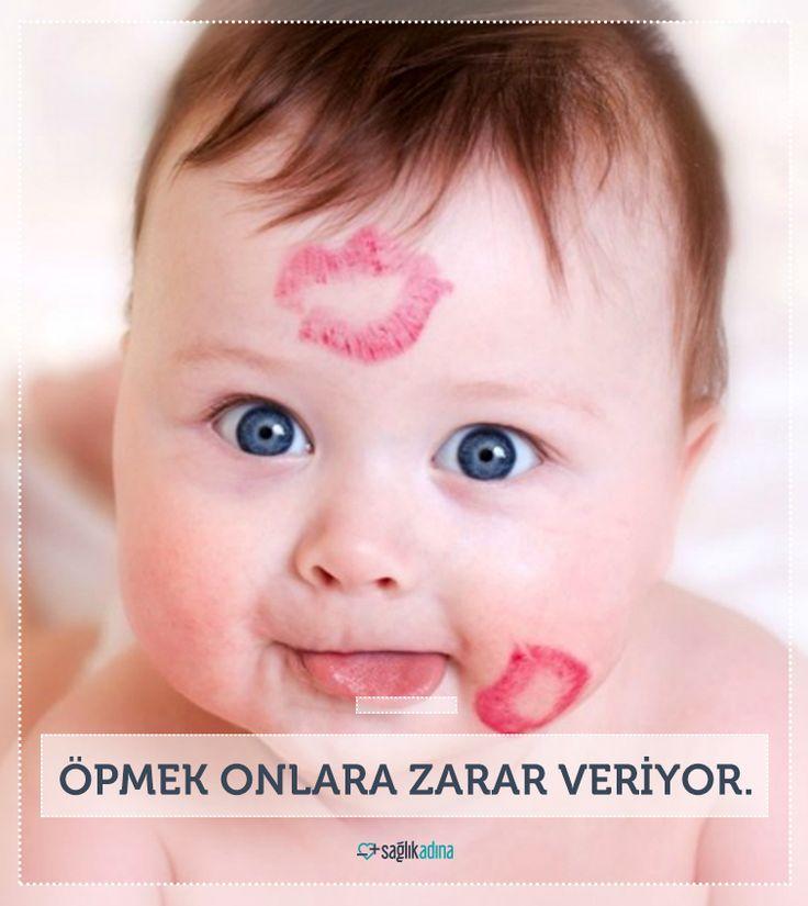 Çocuklarda görülen halsizlik, boğaz ağrısı, bademcik büyümesi ve ateşin nedeni onlara duyduğumuz sevgiyi gösterdiğimiz öpücükler olabilir.
