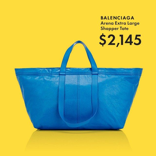 The $2,000 Balenciaga Ikea Bag Is Actually Awesome | GQ