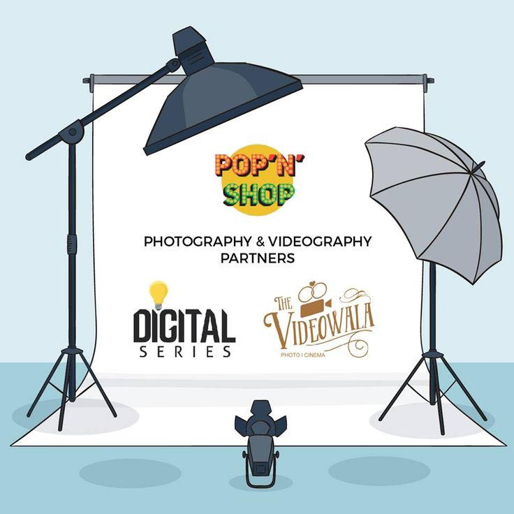 "Delay all your plans and get ready to attend the tricity's most loved and the first homegrow Flea market #festival ""Pop N Shop 2017""  Get some glimpses of our work and don't forget to get clicked by us. #TheVideowala #DigitalSeries #Chandigarh"