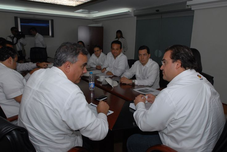 El gobernador Javier Duarte de Ochoa acude a reunión con directivos de Nestlé en la ciudad de Boca del Rio donde se trataron temas para beneficio de la comunidad veracruzana.