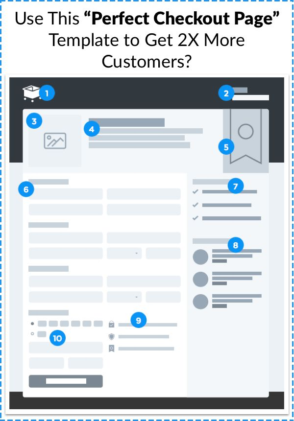 Does it feel like you're not making as many sales as you should be? Chances are, you're right. You could be losing up to 80% of your potential customers because of a poorly designed checkout page. Download this 'Perfect Checkout Page' template to discover the 10 simple elements you need to add to your checkout page that could give you up to a 400% boost in sales! Click Here >> https://samcart.clickfunnels.com/webinar-registration-8547840