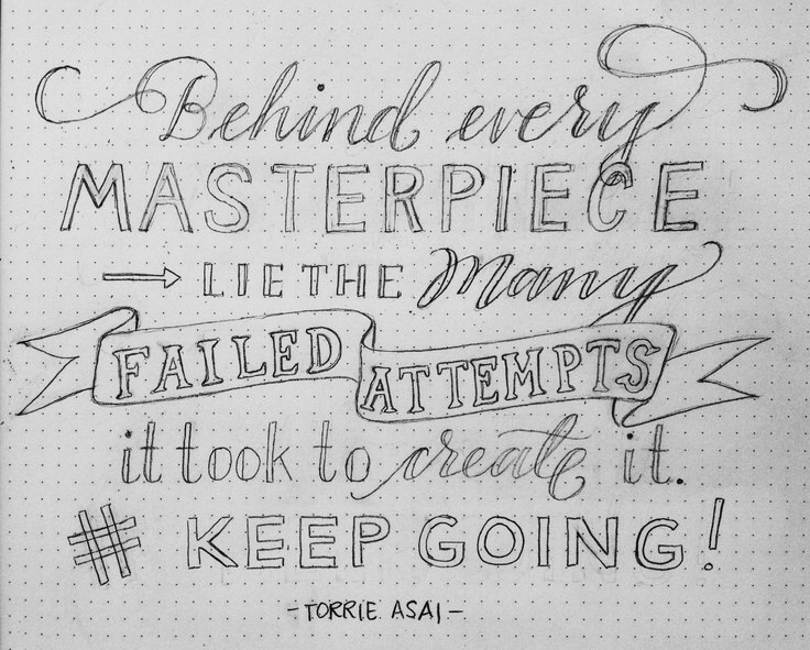 pencil sketches round two edit quote