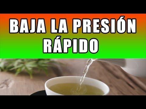 Como Bajar La Presion Arterial Rapido De Forma Natural REMEDIO CASERO PARA BAJAR LA TENSION - YouTube