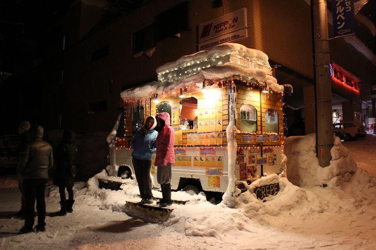 Food Van in Niseko, Japan