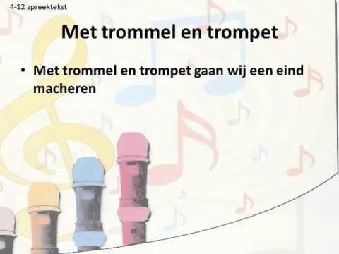 Meer Met Muziek - Groep 4 - 4-12 - Met trommel en trompet