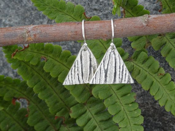 Check out Silver Drop earrings ~ modern ~ minimalist ~  gift for her, idea for ladies, present for wife, on silverwindsjewellery