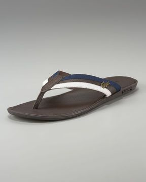 457676586f88 Lacoste Carros Striped Flip-Flop on shopstyle.com  flipflopsshoes ...