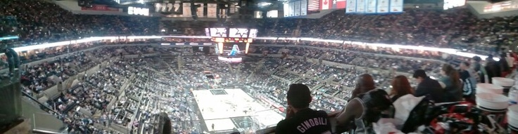San Antonio Spurs game vs Miami Heat   TooK kids to see Shaq but he was hurt and sat on thr bench