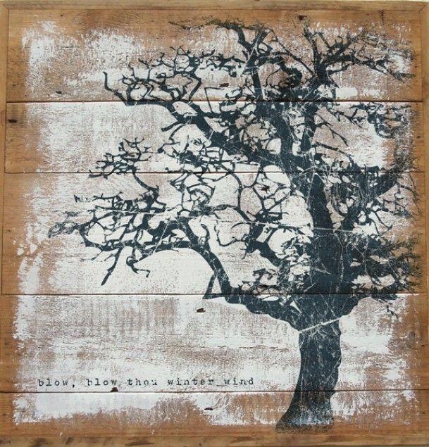 creatief (zelf) maken | kan ik ook maken van onze restjes steigerhout. Goed idee : ) Door femke026