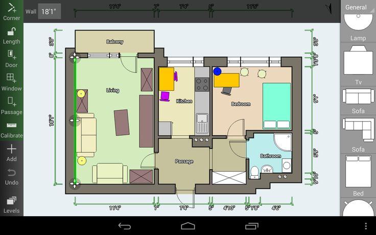 Floor Plan Creator: progetta la tua casa direttamente su smartphone o tablet - http://www.tecnoandroid.it/floor-plan-creator-progetta-la-tua-casa-direttamente-su-smartphone-o-tablet/